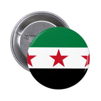 syria opposition pinback button
