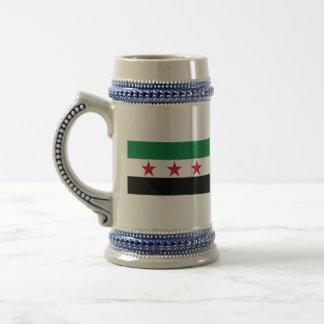 syria opposition beer steins