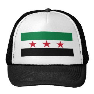 syria opposition mesh hat