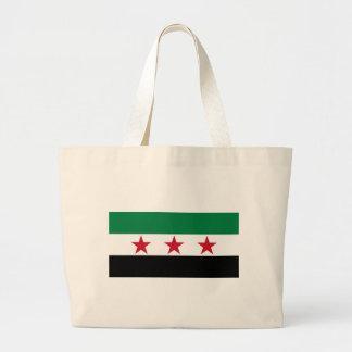 syria opposition jumbo tote bag
