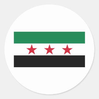 syria opposition round stickers