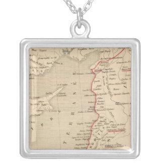 Syrie et de la Palestine, 624 ans apres JC Silver Plated Necklace