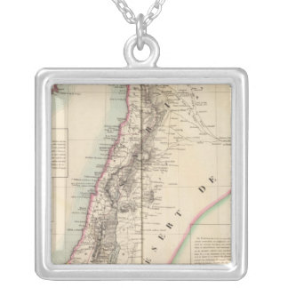 Syriea and Palestine Asia 63 Silver Plated Necklace