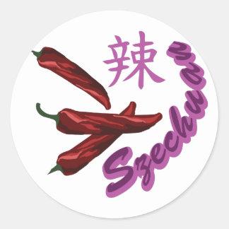 Szechuan Pepper Classic Round Sticker