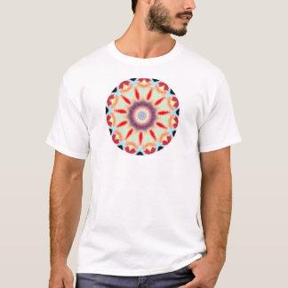 T-Dye Style Kaleidoscope Digital Design T-Shirt