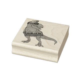 T-Rex Keyboard Rubber Stamp