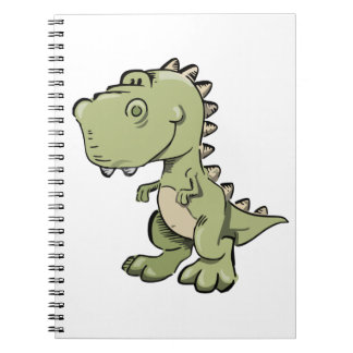 T-Rex Spiral Notebook