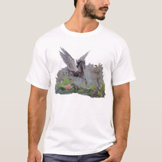 T-shirt - Black Pegasus