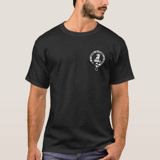 T Shirt black with small Home Crest top left
