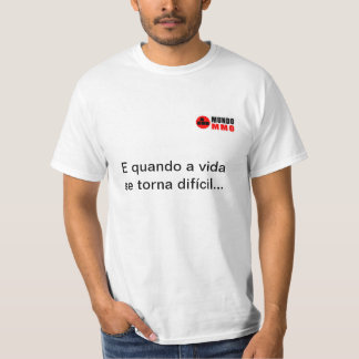 T-Shirt Difficult Vida