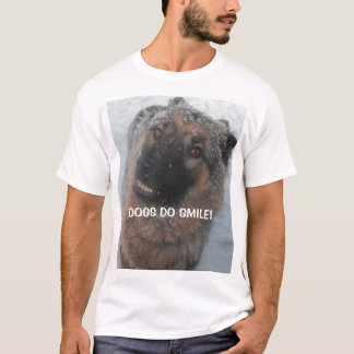 T-Shirt German Shepherd Dogs Do Smile