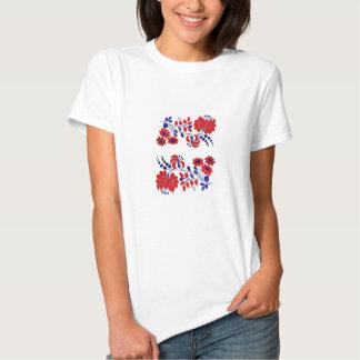 t-shirt, hungarian, embroidery tee shirt