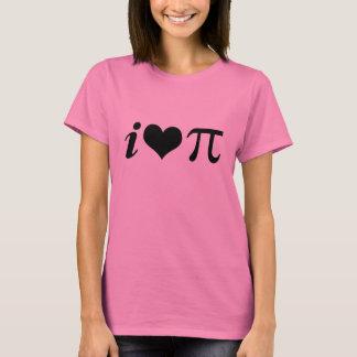 T-Shirt, I Love Pi T-Shirt