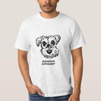 T-shirt Miniature Schnauzer