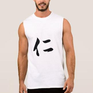 T-shirt of Chinese calligraphy penmanship REN