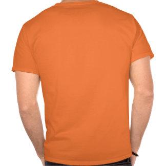 T-shirt orange with own name and number