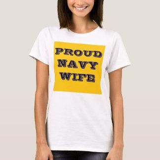 T-Shirt Proud Navy Wife