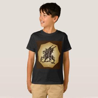 T-shirt Short sleeves Boy dragon
