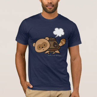 T-shirt - TeaKettle Tanuki