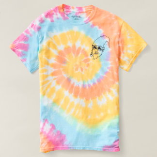 T-shirt Tie Dye Trippin Toon