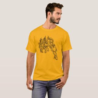 T-shirt Wheel Capoeira