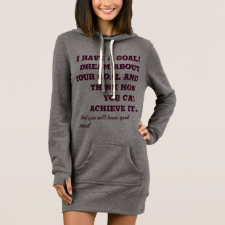 t-shirt with long sleeves and motivational slogan