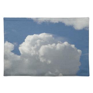 Table set Cumulus cloud Placemat