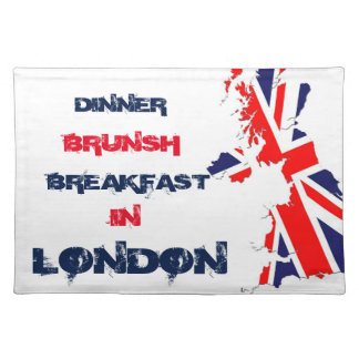 TABLE SET LONDON PLACEMAT