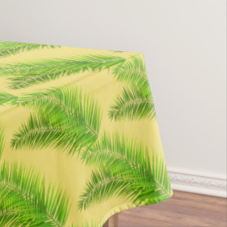 "Tablecloth ""60x84"" Tropical Palms"