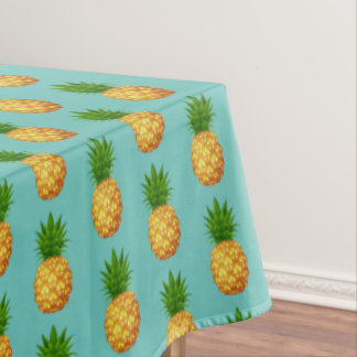 """Tablecloth """"60x84"""" Tropical Pineapple"""