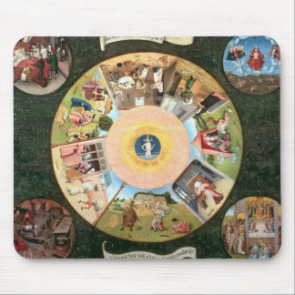 Tabletop of the Seven Deadly Sins Mouse Pad