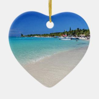 Tabyana Beach I.JPG Christmas Ornament