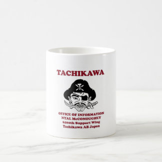 tachikawa air base coffee mug