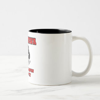 tachikawa air base Two-Tone coffee mug