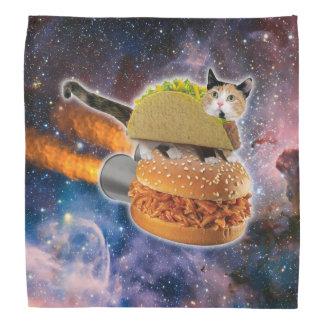 taco catand rockethamburger in the universe do-rag
