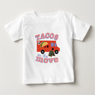 Tacos On The Move Baby T-Shirt