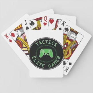 Tactics Elite Gamer Playing Cards