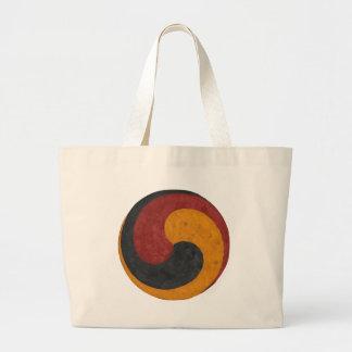 Taeguk Large Tote Bag