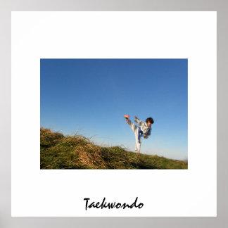 Taekwondo poster for kids