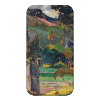 Tahitian Landscape - Paul Gauguin iPhone 4/4S Cover