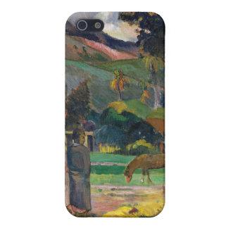 Tahitian Landscape - Paul Gauguin Cases For iPhone 5