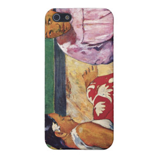 Tahitian Women on the Beach, Paul Gauguin iPhone 5 Cover