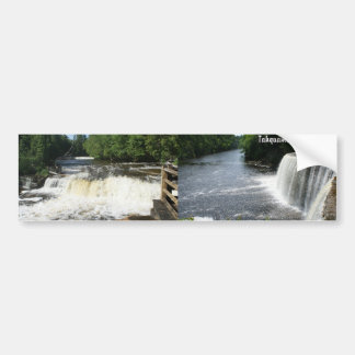 Tahquamenon Falls, Paradise, Michigan Bumper Stickers