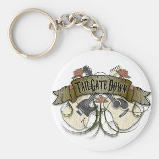 Tailgate Down Key Chain