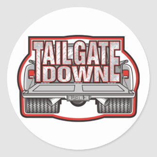 TailGate Down Sticker