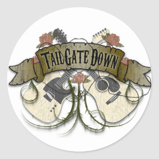 Tailgate Down Stickers