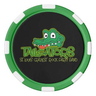 Tailgators Poker Chip Poker Chips