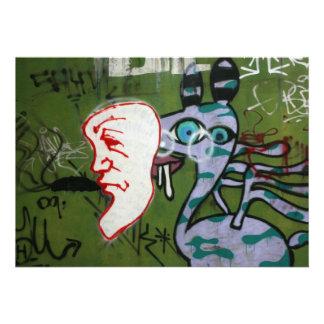 Taiwanese graffiti Taipei Taiwan Personalized Announcement