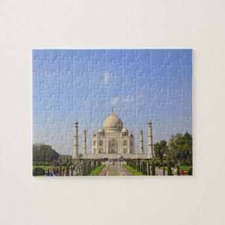 Taj Mahal, a mausoleum located in Agra, India, Jigsaw Puzzle