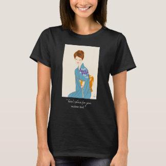 Takasawa Keiichi tender japanese lady portrait art T-Shirt